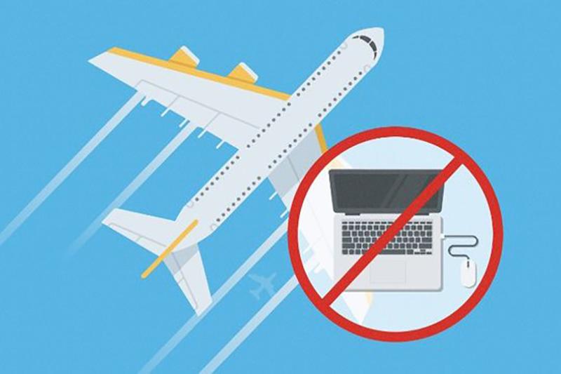 حمل لپتاپ به هواپیما ممنوع میشود؟