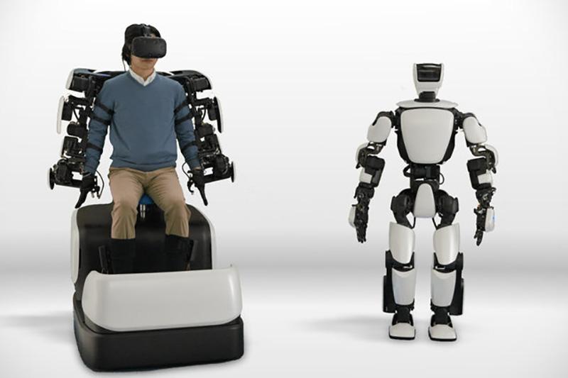 رباتی که حرکات انسان را تقلید میکند
