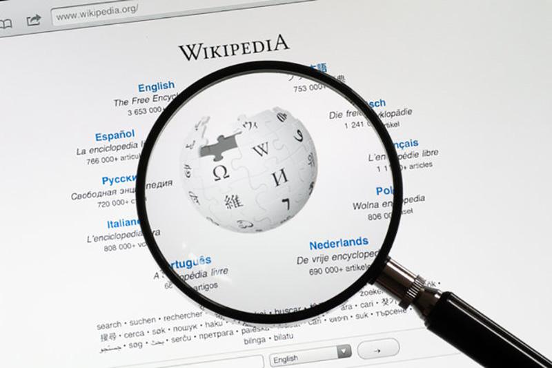 طراحی ویکیپدیای غیررسمی برای وب تاریک!